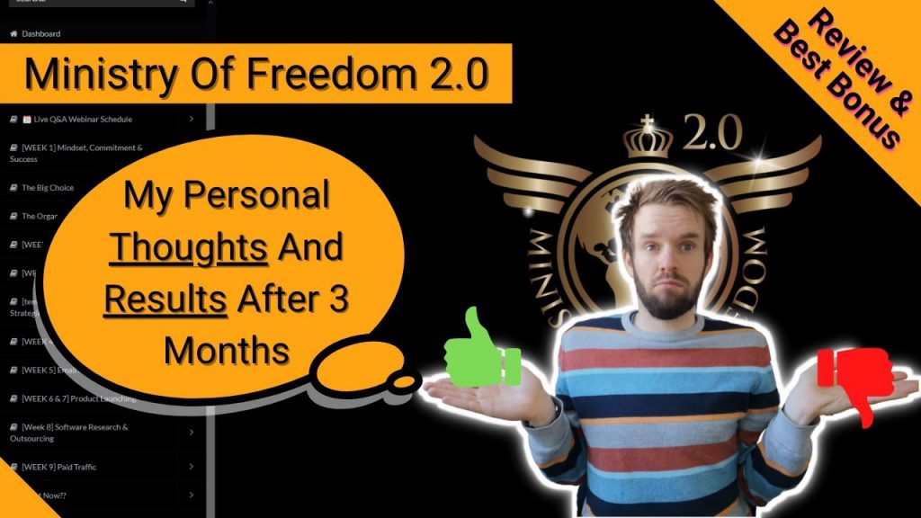 Ministry of Freedom review and bonus
