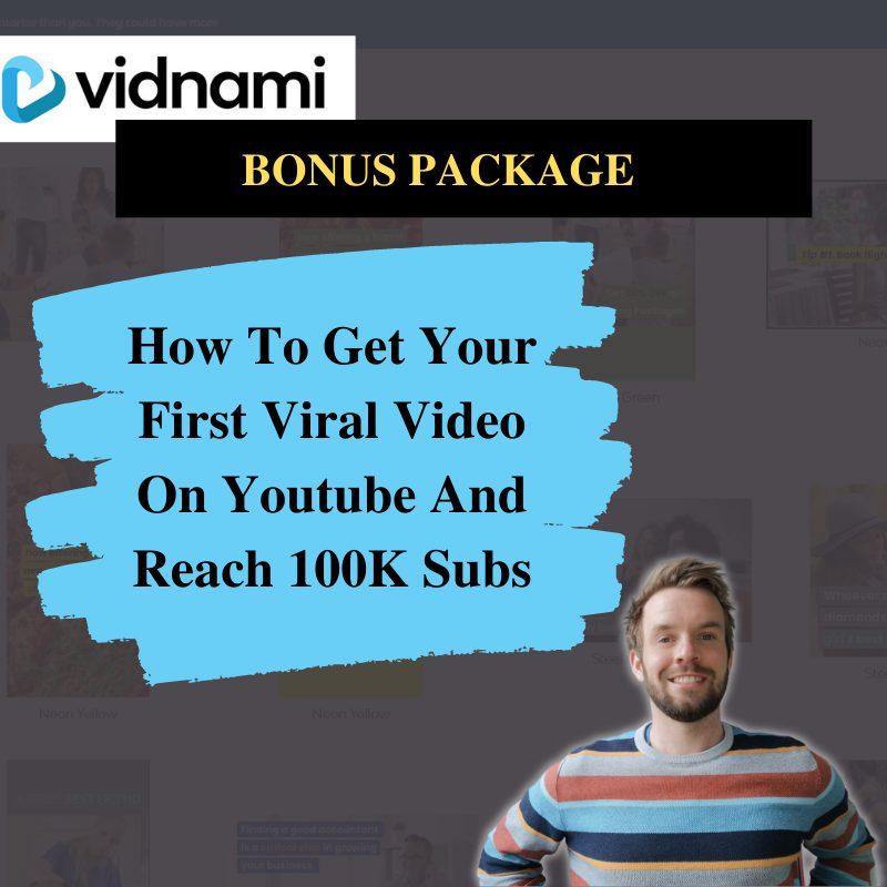 Vidnami Review Bonus #1