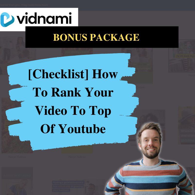 Vidnami Review Bonus #2