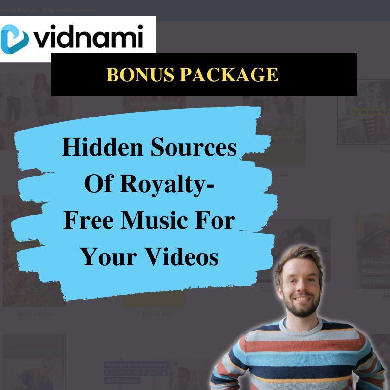 Vidnami Review Bonus #5