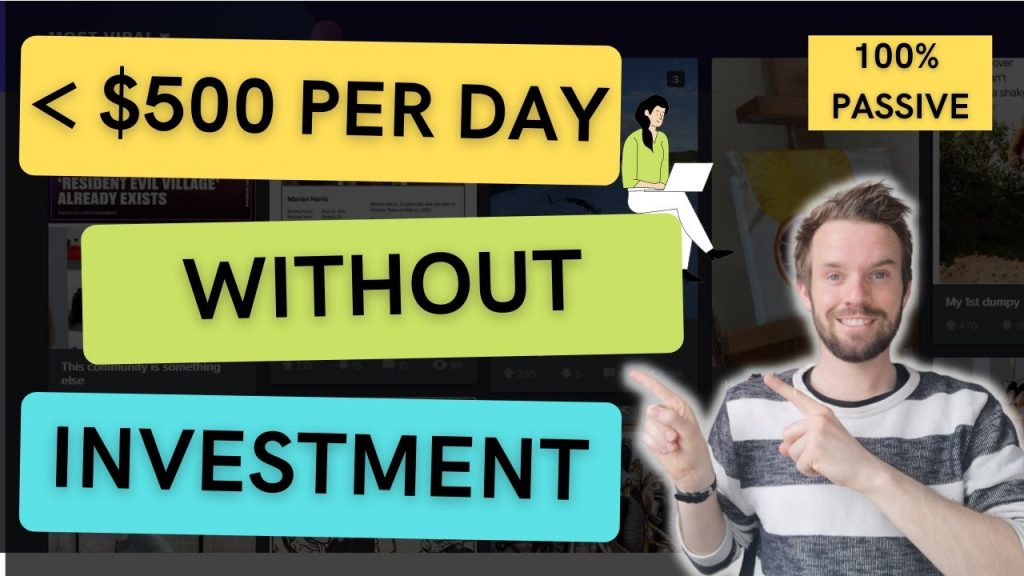 How To Earn Money From Home Without Investment 2021