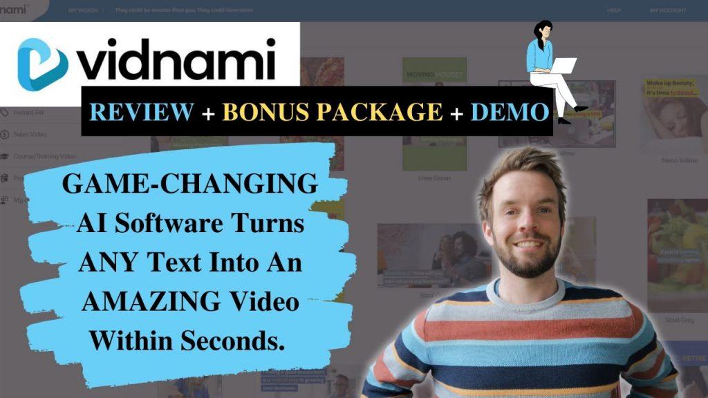 Vidnami Review And Bonus Package.